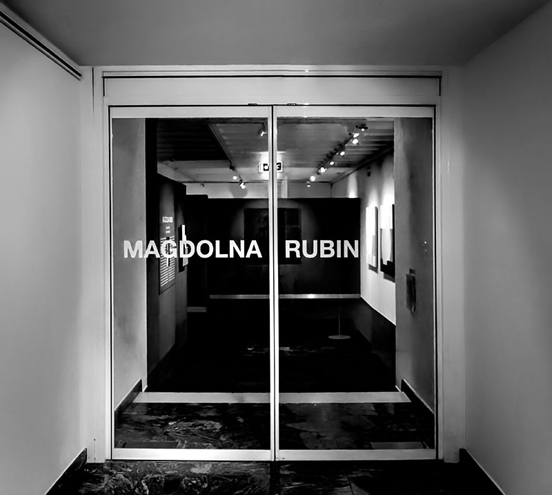 Enter the art world of Magdolna Rubin